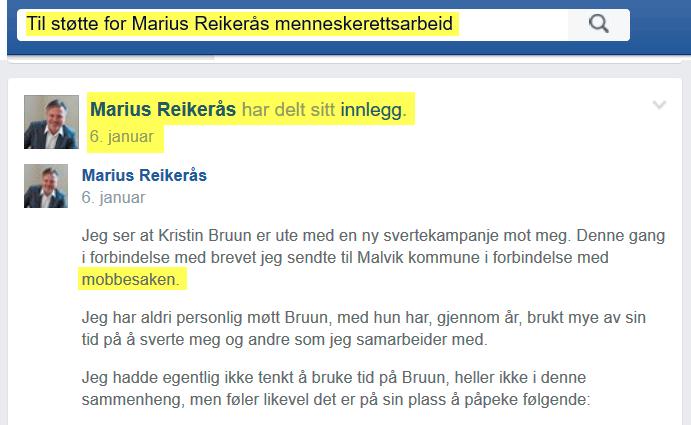 2016-01-06_mariusreikeras-deler-sitt-eget-innlegg-til-stotte-for-mariusreierasmenneskerettsarbeid_saken-er-mobbing-liksom