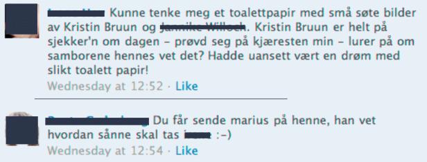 Irene Hov tror Kristin Bruun stjeler kjæresten hennes