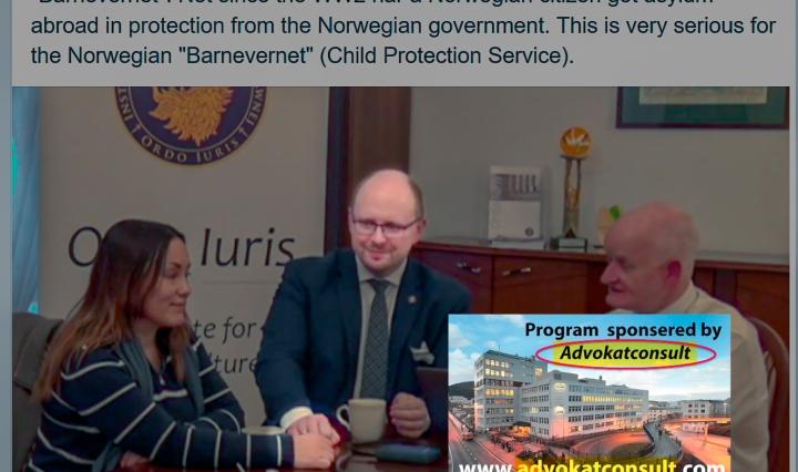 Jerzy Kwasniewski i Ordo iuris, film støttet av Sverre Skimmeland, Advokatconsult