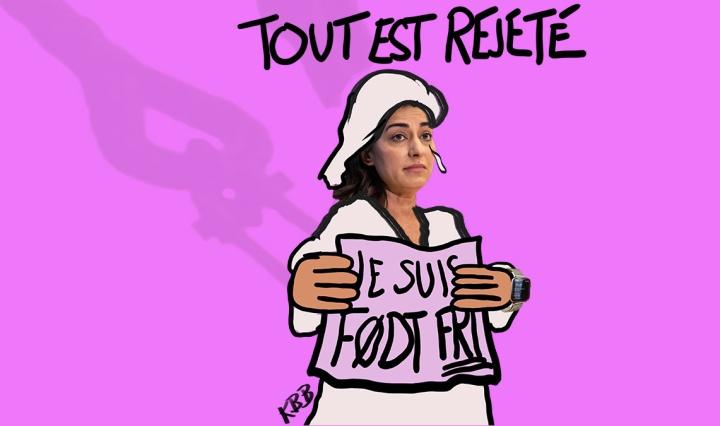 Født fri: Tout est rejeté!